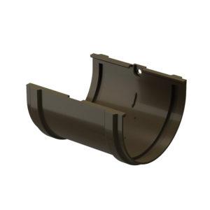Соединитель желобов Docke Premium шоколад Ø120/85 мм