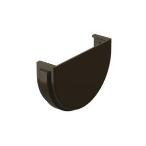 Заглушка желоба Docke Premium шоколад Ø120/85 мм