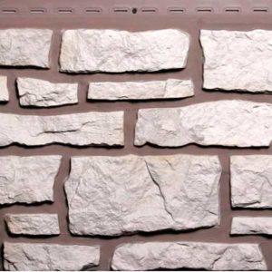 Фасадные панели Nailite Creek Ledgestone винтажный белый