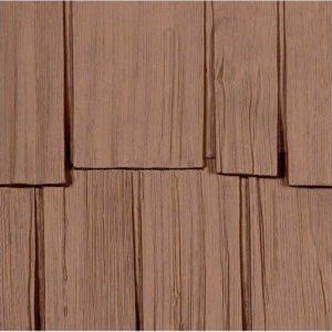 Фасадные панели Nailite Hand-Split Shake природный кедр