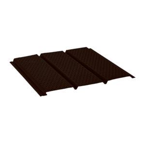Aquasystem софит с полной перфорацией темно-коричневый 32