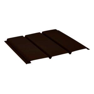Aquasystem софит без перфорации темно-коричневый 32