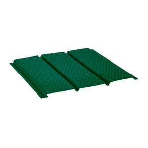 Aquasystem софит с полной перфорацией зеленый 6005