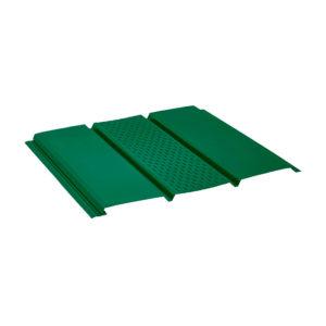 Aquasystem софит с центральной перфорацией зеленый 6005