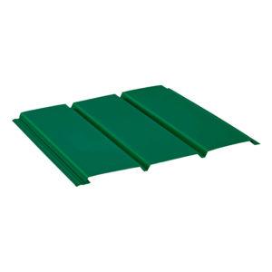 Aquasystem софит без перфорации зеленый 6005
