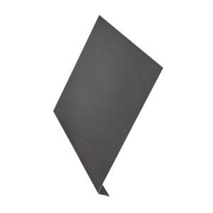 Ветровая планка (L-профиль) Aquasystem 2 метра Pural Matt серый 23