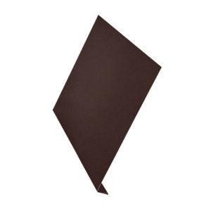 Ветровая планка (L-профиль) Aquasystem 2 метра Pural Matt темно-коричневый 32