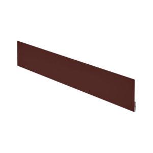 Финишная планка Aquasystem 2 метра коричневый 8017