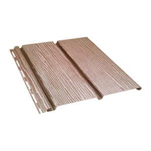 Ю-Пласт виниловый софит Timberblock сплошной 3,4 метра дуб натуральный