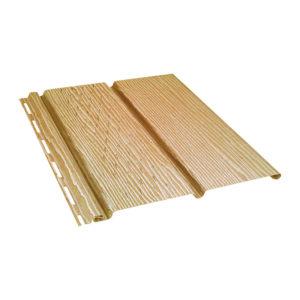 Ю-Пласт виниловый софит Timberblock с перфорацией 3,4 метра дуб золотой