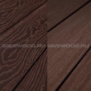 Savewood Fagus террасная доска двухсторонняя терракот