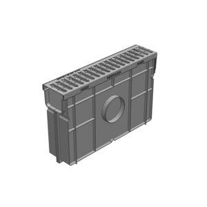 Комплект Gidrolica Light DN90 пескоуловитель пластиковый с решеткой стальной
