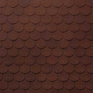 Tegola Nobil Tile коллекция Верона коричневый