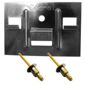 Кляммер + Заклёпка для Cedral Click