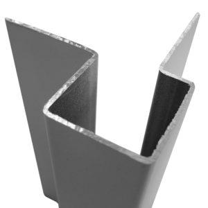 Внешний асимметричный угловой профиль для Cedral