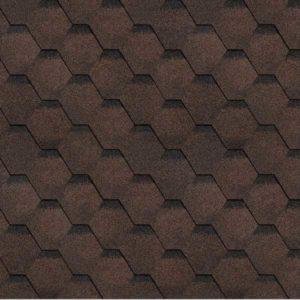 Технониколь Shinglas коллекция Соната коричневый