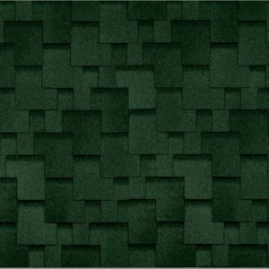 Технониколь Shinglas коллекция Аккорд зеленый