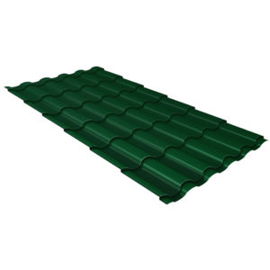 Металлочерепица Kredo зеленый