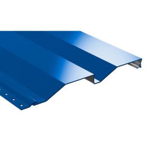 Корабельная доска металлический сайдинг Полиэстер синий 5005