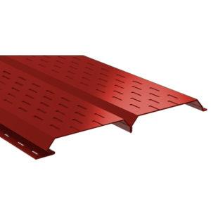 Lбрус-15х240 софит перфорированный красный 3011