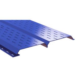 Lбрус-15х240 софит перфорированный синий 5005