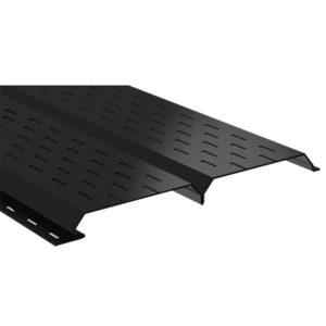 Lбрус-15х240 софит перфорированный черный 9005