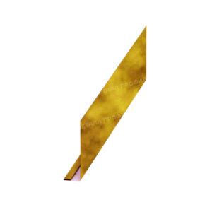 Планка карнизного свеса Ecosteel золотой дуб