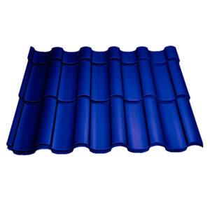 Металлочерепица Монтекристо синий
