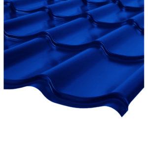 Металлочерепица Ламонтерра синий