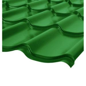Металлочерепица Монтеррей светло-зеленый