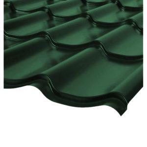 Металлочерепица Монтеррей зеленый