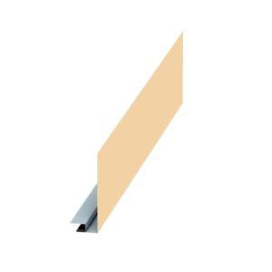 Планка карнизного свеса сложная слоновая кость 1014