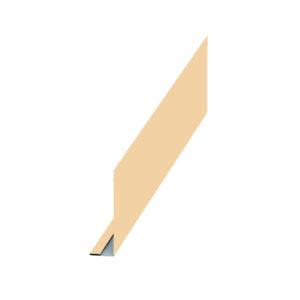 Планка карнизного свеса слоновая кость 1014