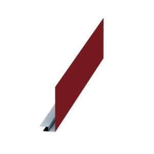 Планка карнизного свеса сложная красный 3011