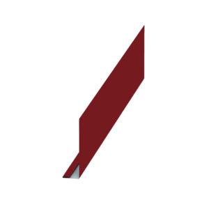 Планка карнизного свеса красный 3011