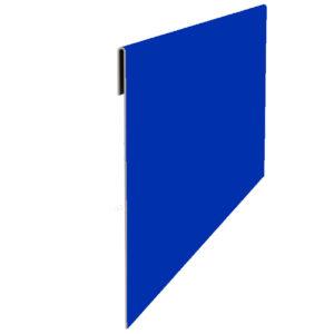 Планка финишная 65х2000 синий 5005