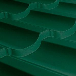 Металлочерепица Трамонтана зеленый