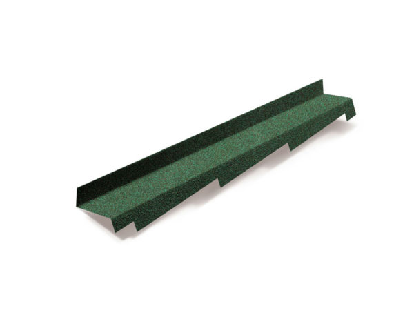 Metrotile боковое примыкание зеленый