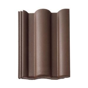 Braas Таунус цвет темно-коричневый