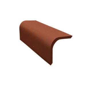 Боковая универсальная черепица коричневый