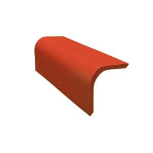 Боковая универсальная черепица красный