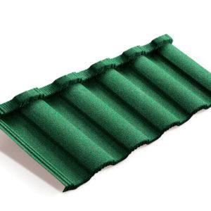 Metrotile композитная черепица MetroRoman зеленый