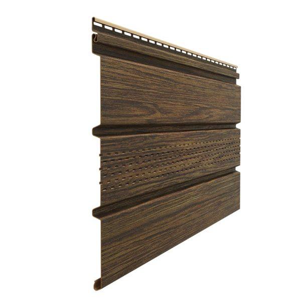 Docke виниловый софит Lux с перфорацией 3,05 метра фундук