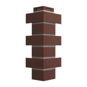 Фасадные углы Döcke Flemish коричневый