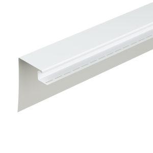 Фасадный профиль околооконный 230 мм Döcke белый