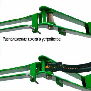 Устройство для гибки крюков