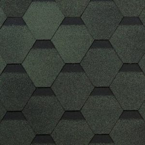 Технониколь Shinglas коллекция Оптима зеленый