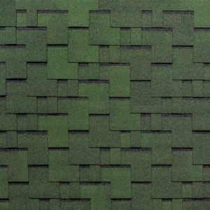 Tegola Top Shingle коллекция Футуро зеленый