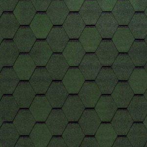 Tegola Top Shingle коллекция Смальто зеленый