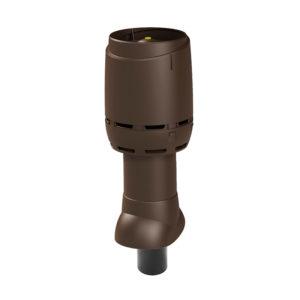 Вентиляционный выход 110P/ИЗ/350 FLOW Vilpe коричневый